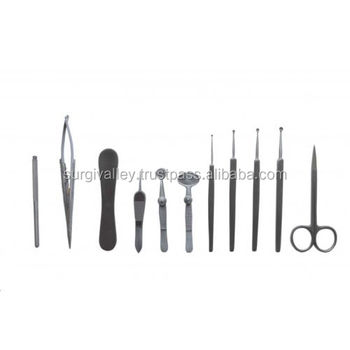 Set of 11 Chalazion Eye Surgery Instrument Kit Ophthalmic Cataract Surgery of Top Quality