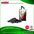 Widely Appreciated Pillow Shaped Coconut Shell Charcoal Attractive Price
