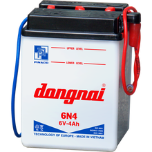 6N4 (6V - 4.0Ah) Dry charged Lead Acid Battery for Motorcycle