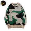 iGift Camo Color Knit Women's Sweaters for Lady