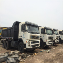 cheap used korea made used volvo dump truck for sale
