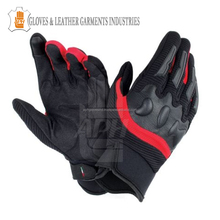 Men's Leather Winter Rain Cover Insulated Motorbike Motorcycle Gloves Black