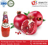 pomegranate flavor for basil seed drink