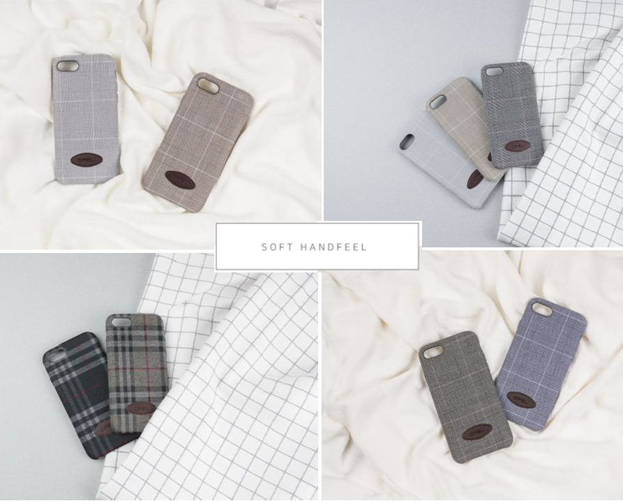 HANDMADE FABRIC CASE FOR MOBILE PHONE