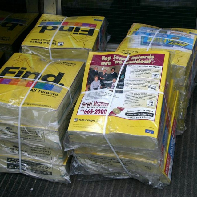 100% Old Telephone Directories Waste Paper Yellow Pages for sale