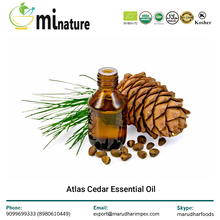 Atlas Cedarwood Essential Oil - 100% Pure Natural