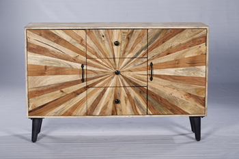 Industrial Antique Style Modern Bed Sideboard Table