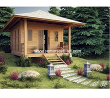 Cheap Price wood prefabricated house and villa romania