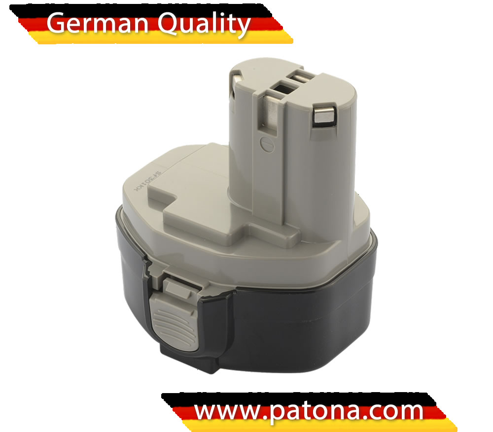 PATONA Battery for Makita Cordless Drill E-Tools: 3000mAh: 14,4V: NI-MH