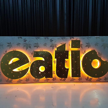 Electric LED Letters and Signage for Advertising