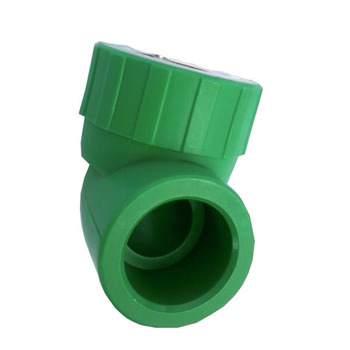 PPR pipe 40mm and ppr female thread adapter for water supply, PPR reducing tee for sale
