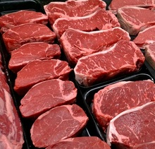 Frozen Cattle Red Meat For Sale