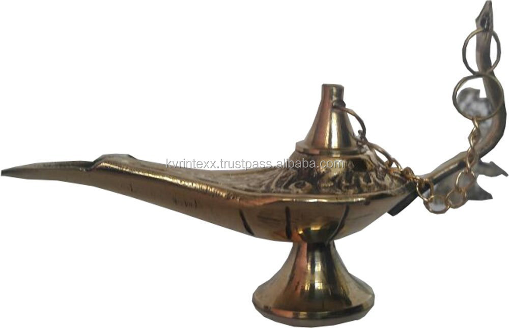 Brass antique aladdin oil lamps