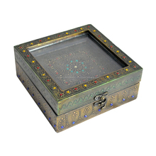 Wholesale Handmade Vintage Home Decorative Gift Item Metal Craft Antique Jewellery Gift box