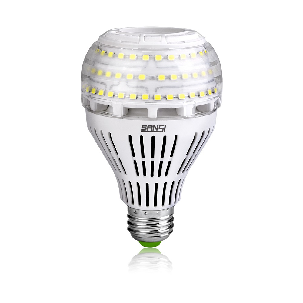 Shanghai Sansi 22W 27W A21 E26 E27 Dimmable Ceiling Light Led <strong>Bulb</strong>