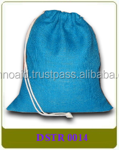 Jute Drawstring Bags with or without logo