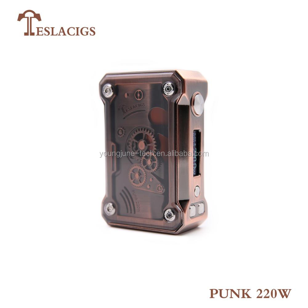 2017 selling star variant box mod Punk 220w