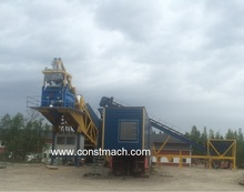 110 m3/h MOVABLE CONCRETE BATCHING PLANT, PORTABLE BETON FACTORY, BEST PRICE, SUITABLE FOR IRAQ, AFRICA, RUSSIA, EUROPE