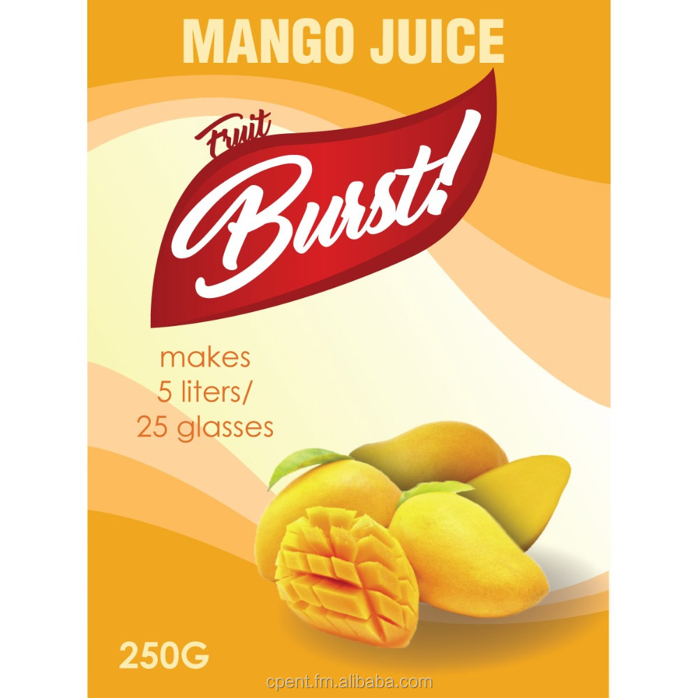 Instant Mango Juice Powder