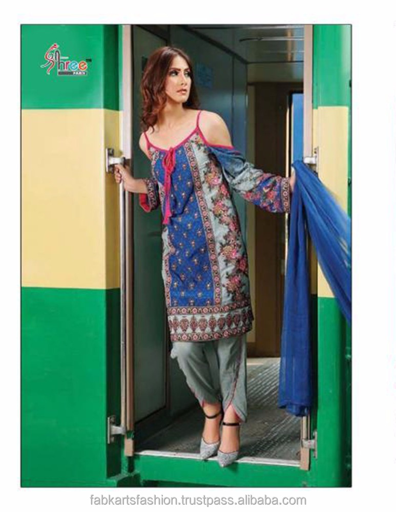Shree Rangrez Premium Vol 2 Cotton 7021 Series Embroidery work salwar kameez