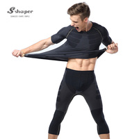 Wholesale Men Gym Custom T-Shirtst,Polyester Spandex Long Sleeve Tshir,Compression Blank Dry Fit T Shirts