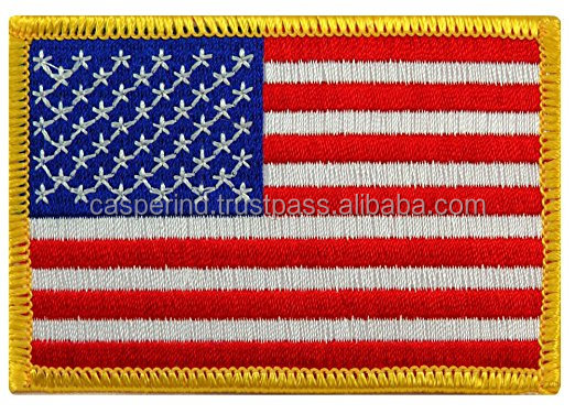 Wholesale Bulk quantity low price promotional Woven embroidery patches Hot sale Woven Custom Patches in wholesale
