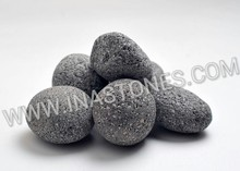 INDONESIA NATURAL STONES LAVA BLACK PEBBLES FOR LANDSCAPING AND FIREPIT
