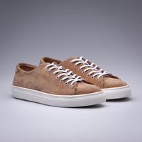 2018 New Fashion Oem Istanbul Custom Logo Genuine Leather Suede Sneakers Shoes