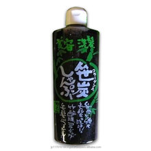 High quality bamboo Charcoal shampoo with scent of natural lemongrass made in Japan