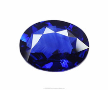 AAA+ Royal Blue Loupe Clean 5.05 Carat Natural Madagascar Blue Sapphire Stones
