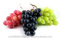 Red grapes, black grapes and white grapes