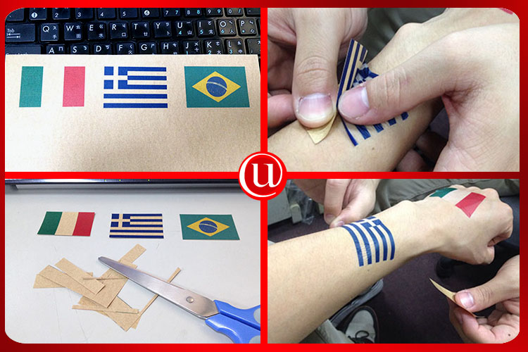 Fashion Inkjet A4 Temporary Tattoo Transfer Paper For DIY Use