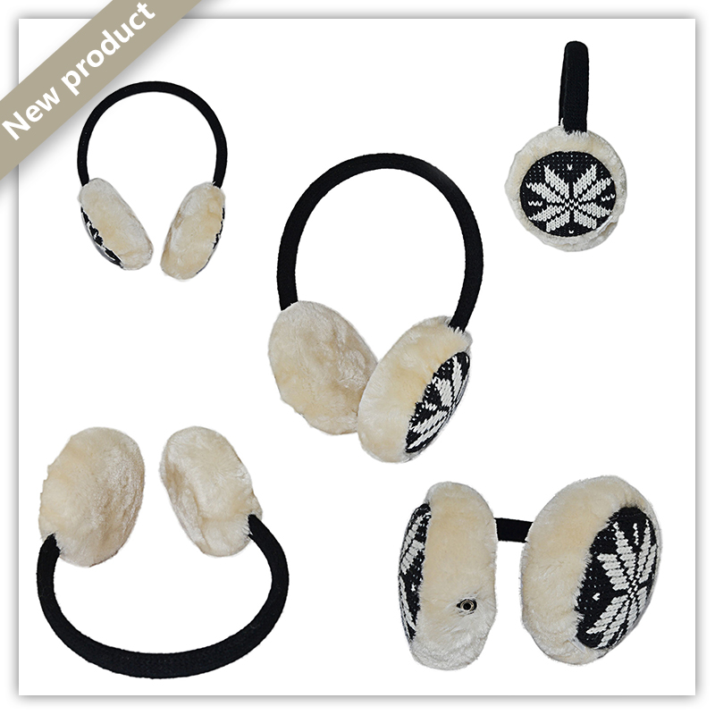 Warm Wollen Headphone for cold weather AH-007