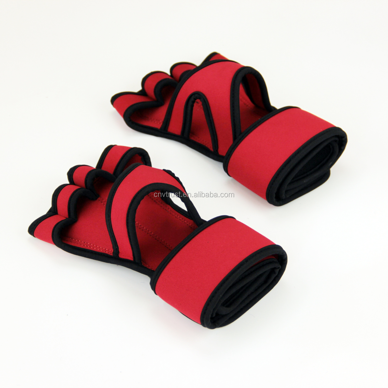 Leather Padding Weight lifting gloves/Wod Grips for Cross Training,Pull Ups,Lifting,Kettlebell