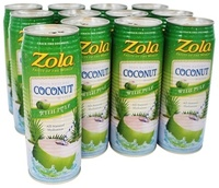 Coconut Juice 60% juice with pulp / 60% Coconut juice with pulp