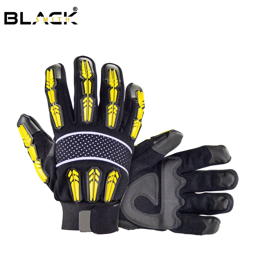Impact Protection Mechanic Gloves for Oil & Gas