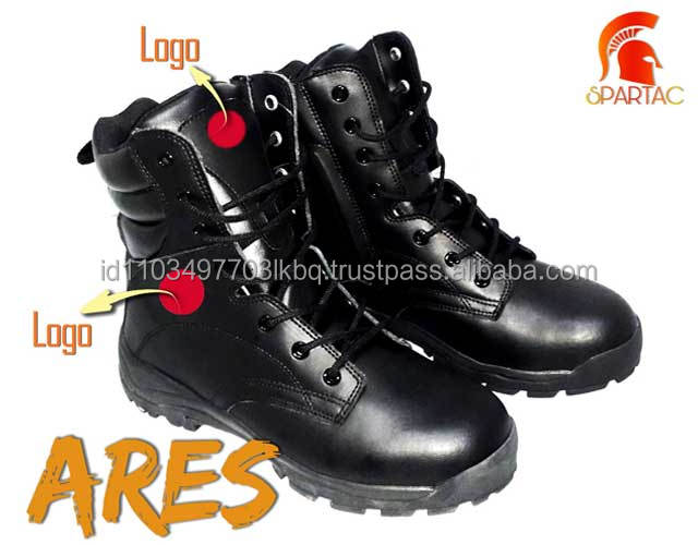 High Quality Genuine Leather Army Boots Comfortable and Durable Military Combat Boots