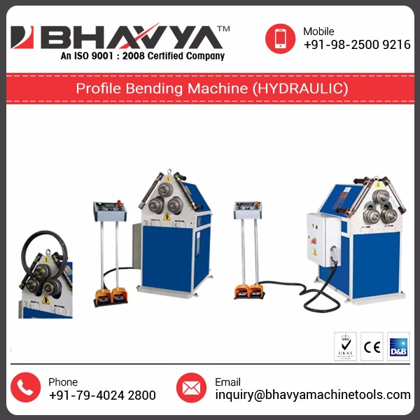 Strong Material Made Profile Bending Machine(Hydraulic)