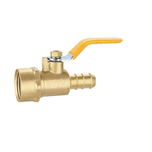Brass Female Thread End Natural Gas Ball Valve