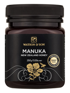 Watson & Son certified Manuka honey MGO 100+ | 250g