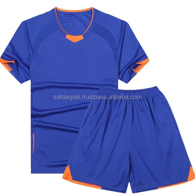 4d2801310 2017 2018 blank soccer uniforms best European quality training football  kits wholesale cheap soccer jersey
