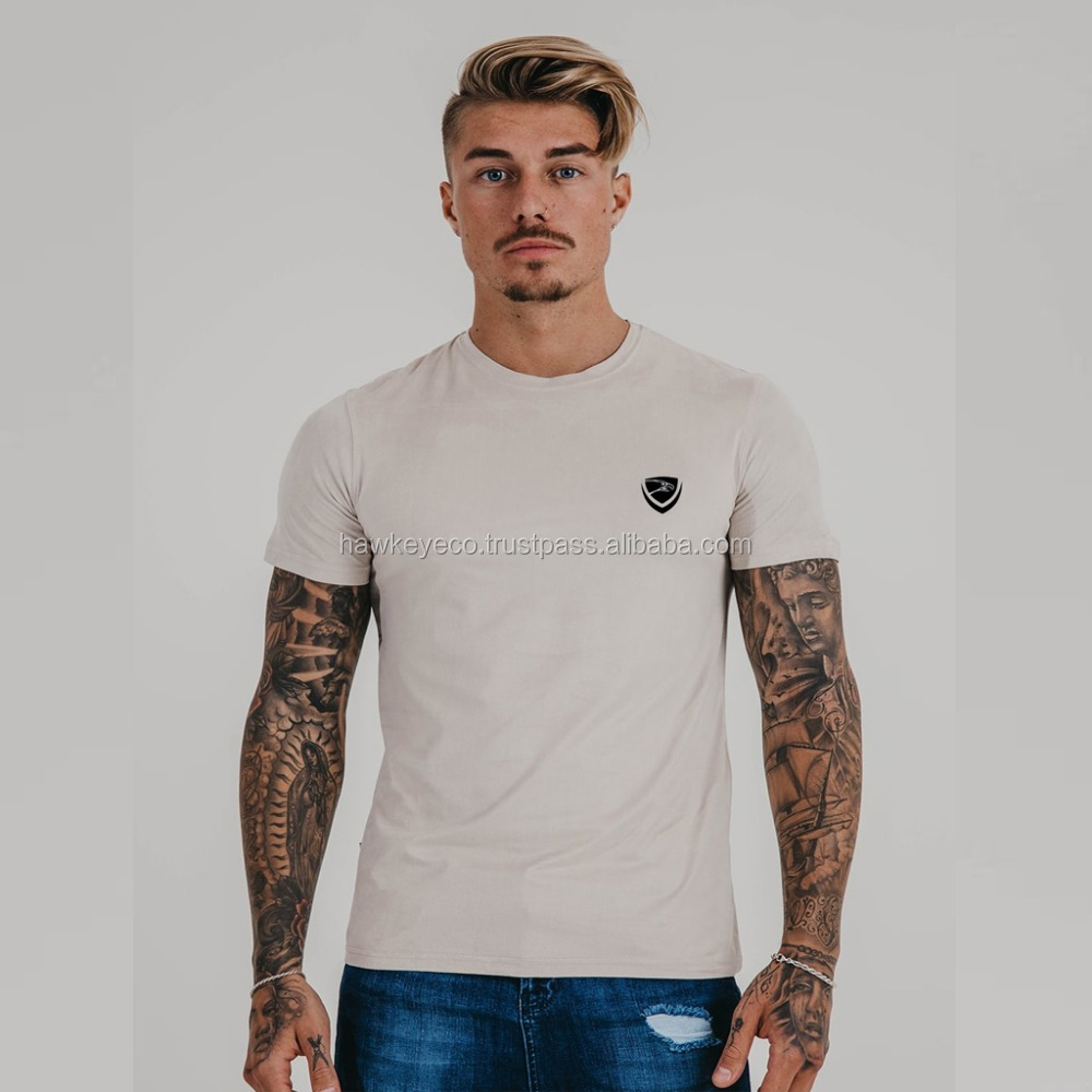 Pure cotton custom blank t shirt for your own design fast delivery Manufacture by Hawk Eye Co. ( PayPal Verified )