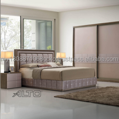 Pond Contemporary Design Bedroom Set Home Furniture