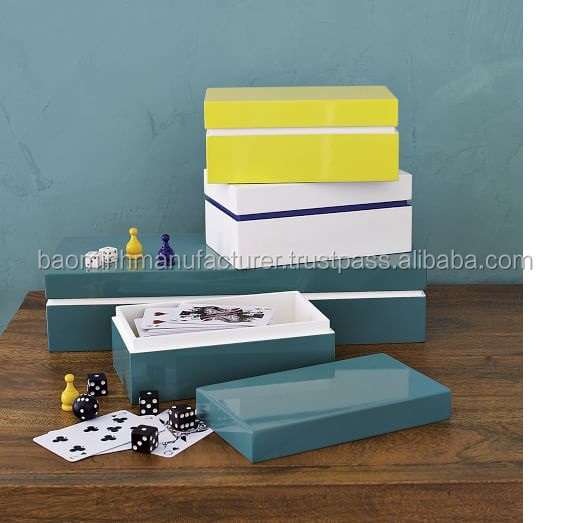 High Glossy Lacquer Jewelry Box