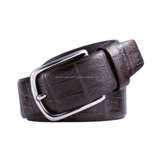 High Quality Cowboy Style Custom Men's Genuine Vintage Leather Belt of Used Leather Belt