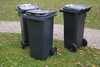 environmentally friendly dustbin garbage recycle containers plastic bulk bins square plastic dustbin 30 L garbage bins