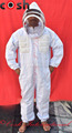 Semi Ventilated Mesh 3 Layer Bee keeping Suit Fencing Style Veil Supplier