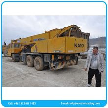 Low fuel consumption superior used truck cranes 20 ton widely using