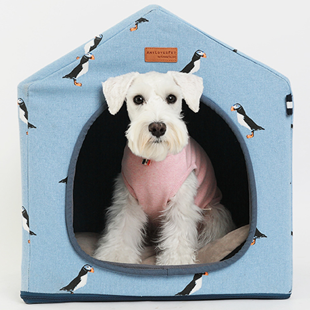 Eco-friendly pet dog cat house amylovespet Penguin house