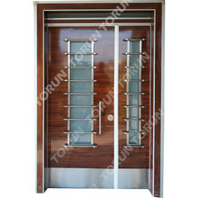 Turkey Factory Stainless Steel Security Doors High Quality Stainless Steel Grill Doors Prices